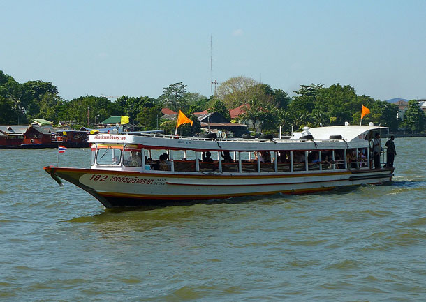 Boat Ride Chaophaya River