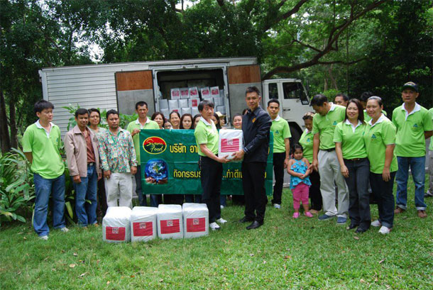 5 Tons of Donation to Zoo