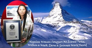 Mount Everest Chhurim Sherpa