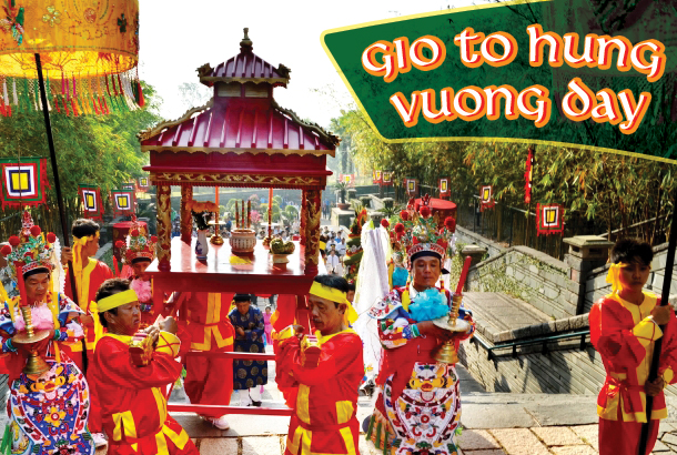 Gio To Hung Vuong Day