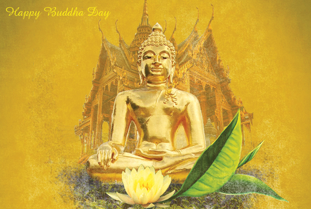 Happy Buddha Day